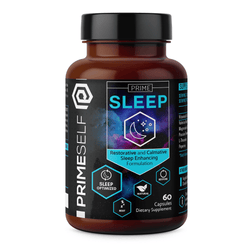 Nootropic Prime Self Prime Sleep [60 Caps] - Chrome Supplements and Accessories