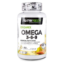 Omegas Nutritech Omega 3-6-9 [90 Caps] - Chrome Supplements and Accessories