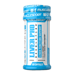 Organ Support MuscleSport Liver Pro Revolution [60 Caps]