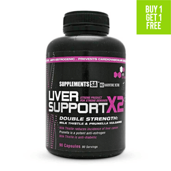 Organ Support Supplements SA Liver Support X2 [90 Caps]