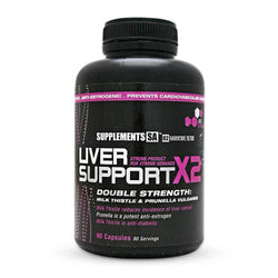Organ Support Supplements SA Liver Support X2 [90 Caps] - Chrome Supplements and Accessories