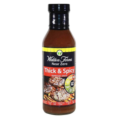 Sauce Walden Farms Thick & Spicy Barbecue Sauce [340g] - Chrome Supplements and Accessories