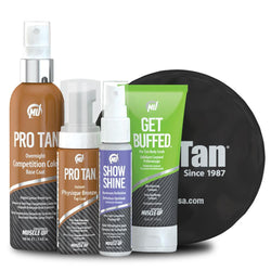 Self Tan Pro Tan Physique Kit [Single Use] - Chrome Supplements and Accessories