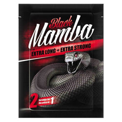 Sexual Health Black Mamba 2 Serving Pack [1 Sachet] - Chrome Supplements and Accessories