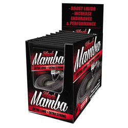 Sexual Health Black Mamba Box [15 Sachets] - Chrome Supplements and Accessories