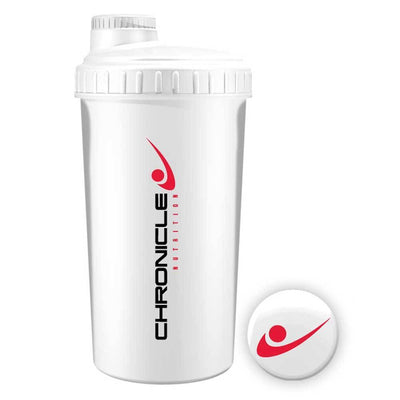 Shaker Chronicle Nutrition Shaker [700ml] - Chrome Supplements and Accessories