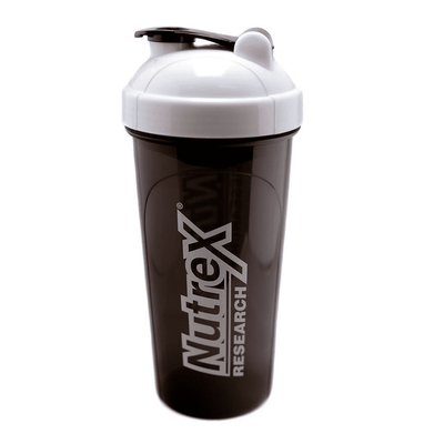 Shaker Nutrex Shaker White [700ml] - Chrome Supplements and Accessories