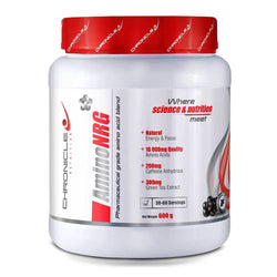 Stimulant Based Amino Chronicle Nutrition Amino NRG [600g] - Chrome Supplements and Accessories