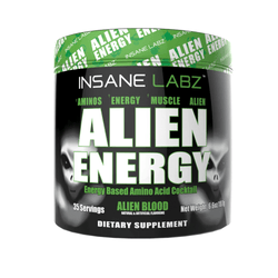 Stimulant Based Amino Insane Labz Alien Energy [165g] - Chrome Supplements and Accessories