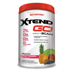 Stimulant Based Amino Scivation Xtend Go [30 Servings] - Chrome Supplements and Accessories