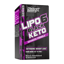 Stimulant Based Fat Burner Nutrex Lipo 6 Black Keto [60 Caps]