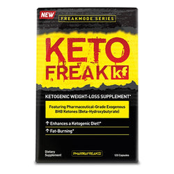 Stimulant Based Fat Burner PharmaFreak Keto Freak [120 Caps]