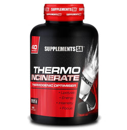 Stimulant Based Fat Burner Supplements SA Incinerate [120 Caps] - Chrome Supplements and Accessories
