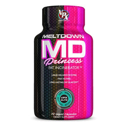 Stimulant Based Fat Burner VPX Meltdown Princess [72 Caps] - Chrome Supplements and Accessories