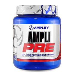 Stimulant Based Pre-Workout Amplify Ampli Pre [520g] - Chrome Supplements and Accessories