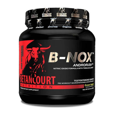 Stimulant Based Pre-Workout Betancourt Nutrition Bullnox [630g] - Chrome Supplements and Accessories