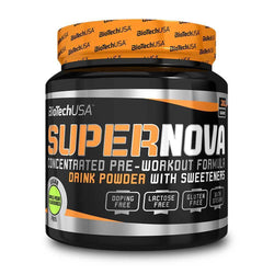 Stimulant Based Pre-Workout BioTech USA SuperNova [280g] - Chrome Supplements and Accessories