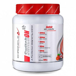 Stimulant Based Pre-Workout Chronicle Nutrition SwitchON [500g]