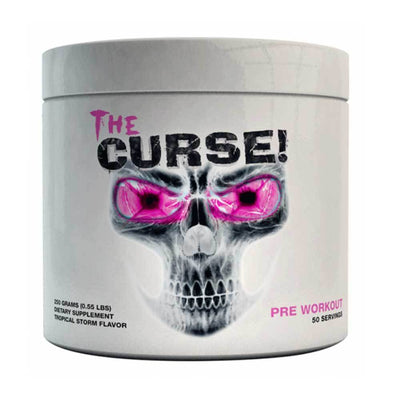 Stimulant Based Pre-Workout Cobra Labs The Curse [250g] - Chrome Supplements and Accessories