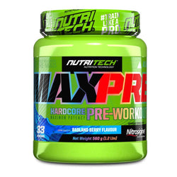 Stimulant Based Pre-Workout Nutritech Max Pre [560g]