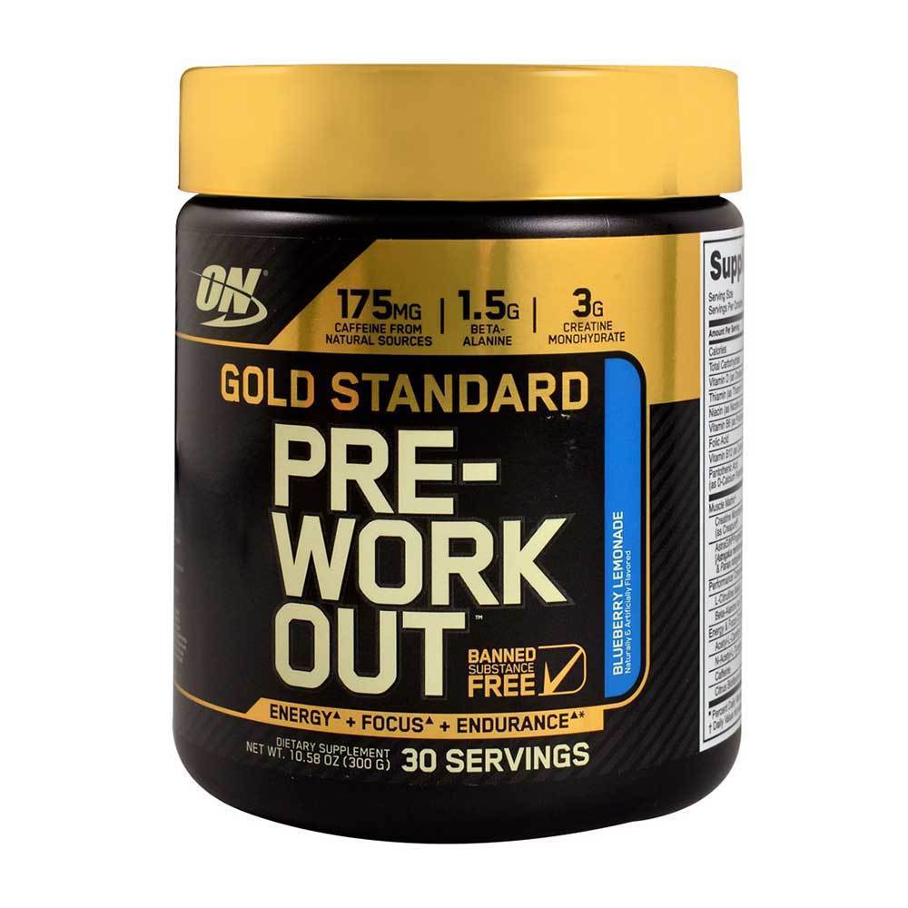 Optimum Nutrition Gold Standard Pre Workout 330g Chrome Mutant Creakong 300 Gram Supplements And Accessories