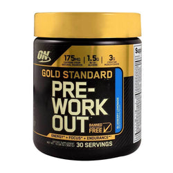 Stimulant Based Pre-Workout Optimum Nutrition Gold Standard Pre-Workout [330g] - Chrome Supplements and Accessories