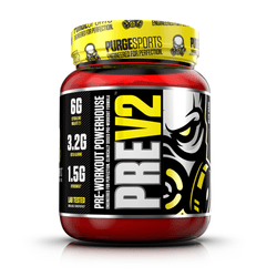 Stimulant Based Pre-Workout PurgeSports Pre V2 [500g] - Chrome Supplements and Accessories