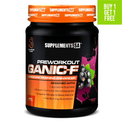 Stimulant Based Pre-Workout Supplements SA Ganic-F [900g]