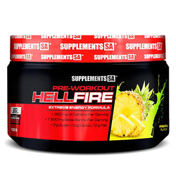Stimulant Based Pre-Workout Supplements SA Hellfire [100g]