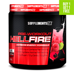 Stimulant Based Pre-Workout Supplements SA Hellfire [200g]