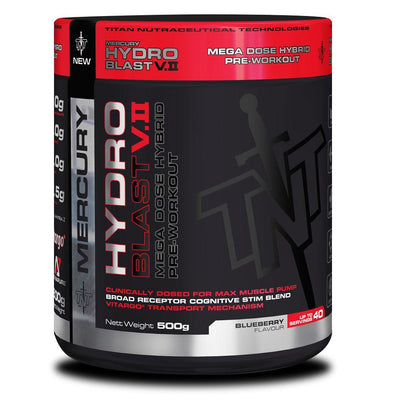 Stimulant Based Pre-Workout TNT Hydro Blast V2 [500g] - Chrome Supplements and Accessories
