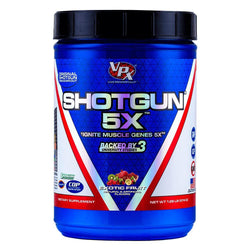 Stimulant Based Pre-Workout VPX Shotgun 5X [570g] - Chrome Supplements and Accessories