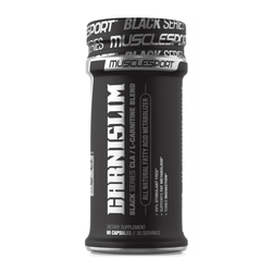 Stimulant Free Fat Burner MuscleSport Black CarniSlim [90 Caps] - Chrome Supplements and Accessories