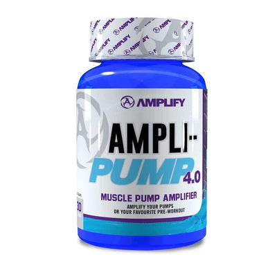 Stimulant Free Pre-Workout Amplify Ampli-Pump 4.0 [60 Tabs] - Chrome Supplements and Accessories