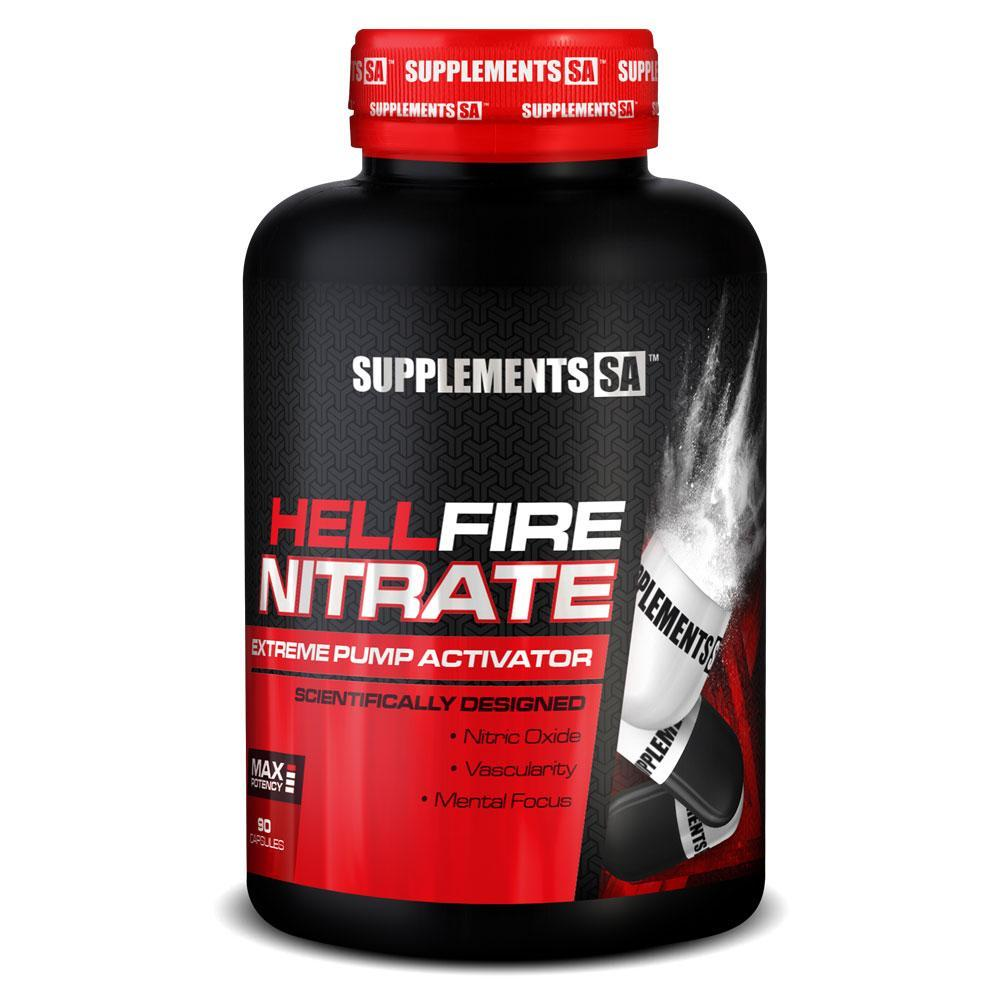 e3b0fd1677d Supplements SA Hellfire Nitrate  90 Caps  - Chrome Supplements and  Accessories