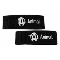 Straps Universal Animal Lifting Straps [Black] - Chrome Supplements and Accessories