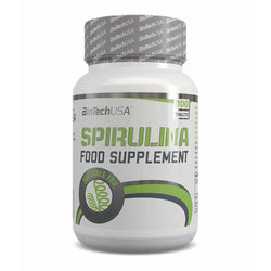 Superfood BioTech USA Spirulina [100 Tabs] - Chrome Supplements and Accessories