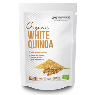 Superfood Muscle Wellness Organic White Quinoa [300g] - Chrome Supplements and Accessories