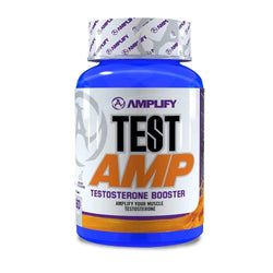 Testosterone Booster Amplify Test AMP [60 Tabs] - Chrome Supplements and Accessories
