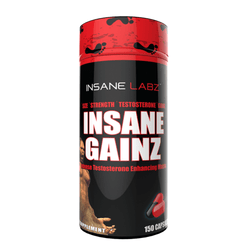 Testosterone Booster Insane Labz Insane Gainz [150 Caps] - Chrome Supplements and Accessories