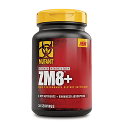 Testosterone Booster Mutant ZM8+ [90 Caps] - Chrome Supplements and Accessories