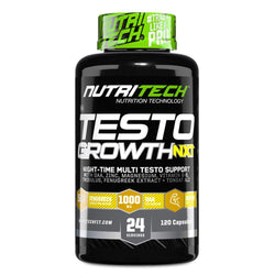 Testosterone Booster Nutritech Testo Growth NXT [120 Caps]