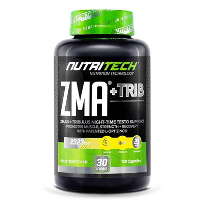 Testosterone Booster Nutritech ZMA + Trib [120 Caps] - Chrome Supplements and Accessories