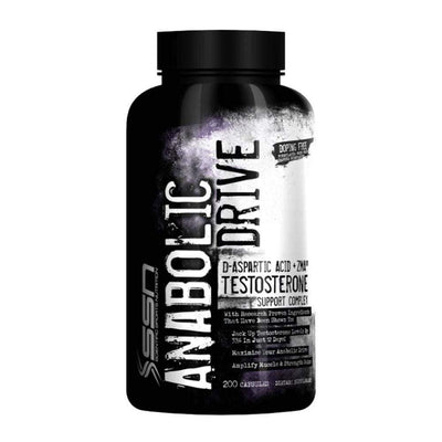 Testosterone Booster SSN Anabolic Drive [200 Caps] - Chrome Supplements and Accessories
