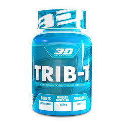 Tribulus 3D Nutrition Trib-T [60 Caps] - Chrome Supplements and Accessories