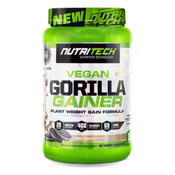 Vegan Mass Gainer Nutritech Gorilla Gainer [1kg]