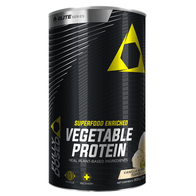 Vegan Protein Fully Dosed Vegetable Protein [900g] - Chrome Supplements and Accessories