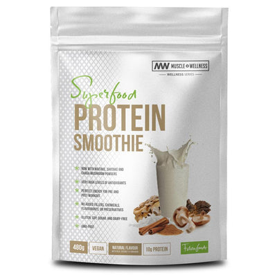 Vegan Protein Muscle Wellness Organic Superfood Protein Smoothie [480g] - Chrome Supplements and Accessories