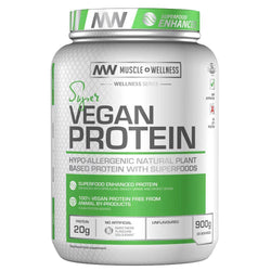 Vegan Protein Muscle Wellness Super Vegan Protein [900g] - Chrome Supplements and Accessories