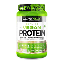 Vegan Protein Nutritech 100% Vegan Protein [900g] - Chrome Supplements and Accessories